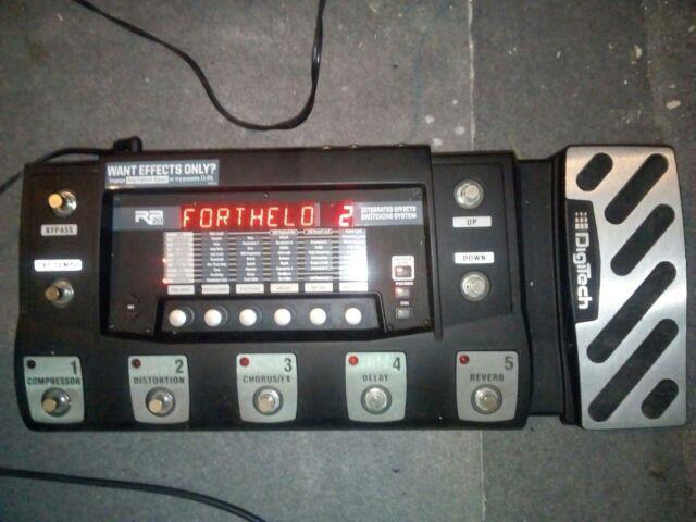 Pedaliera multieffetto digitech rp500