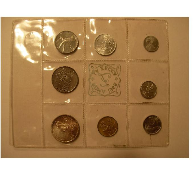 Collezione di monete italiane pistoia - collezionismo in vendita