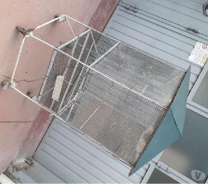 Voliera diametro cm. 100 altezza cm. 150 meda - prodotti e servizi per animali