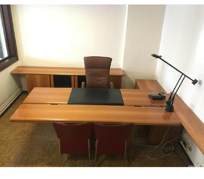 Ufficio direzionale noce scrivania e mobilio cod d in vendita chions - vendita mobili usati
