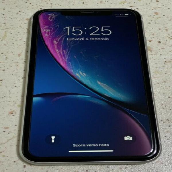 Iphone xr 128 gb bianco