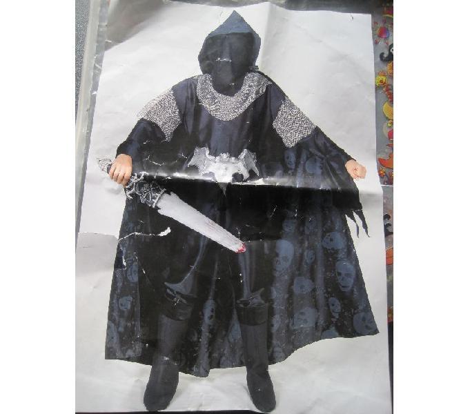 """Vestito carnevale bambino """"signore delle ombre"""" 810 anni torino"""