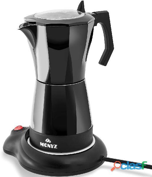 Classic 6 cup moka electric coffee maker