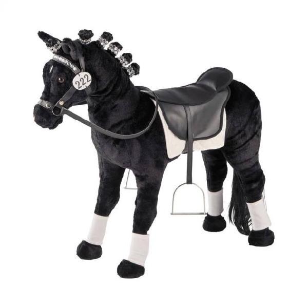 Happy people cavallo da parata giocattolo con suoni 81cm