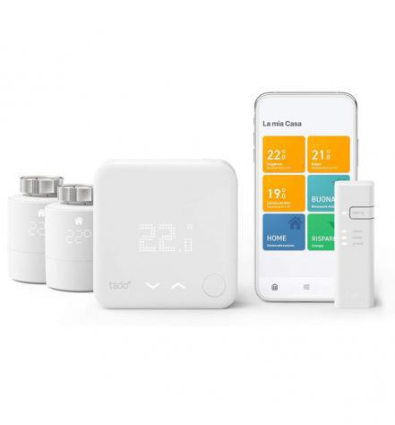 Tado° v3+ starter kit - termostato intelligente + 2 teste