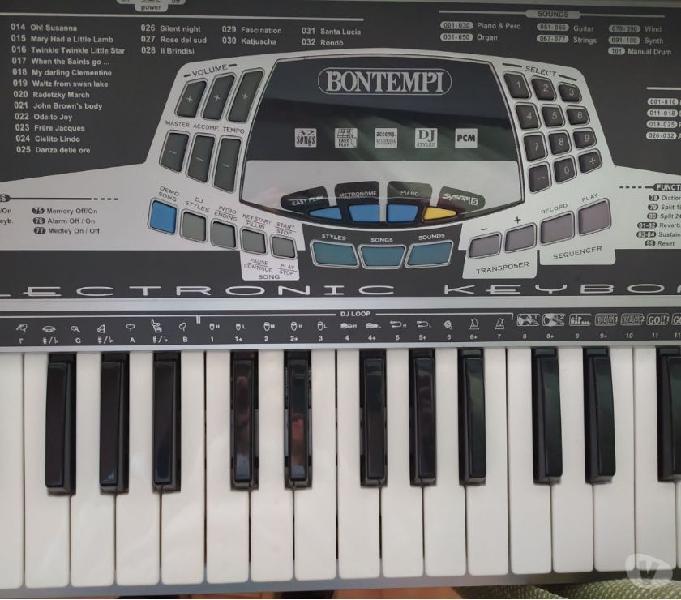 Tastiera bontempi system 5 corridonia - strumenti musicali in vendita