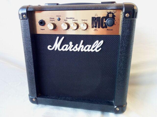 Amplificatore marshall per chitarra