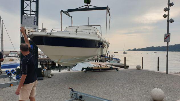 Barca natante diesel 2 motori molinari falcon 29 9mt usata