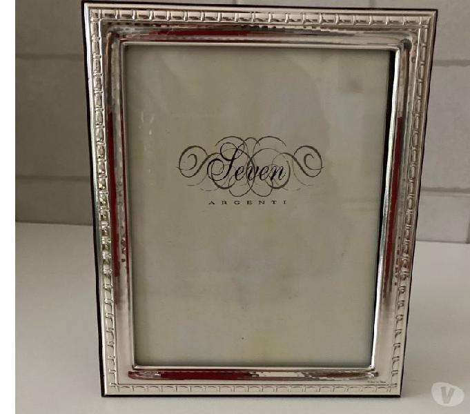 Cornice portafoto argentolegno seven da tavolo 14x17 correzzana - casalinghi - articoli per casa e giardino