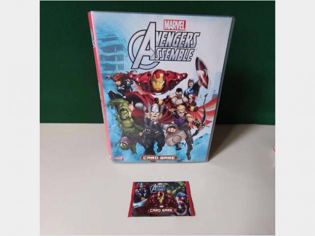 Marvel avengers raccoglitore album cards nuovo