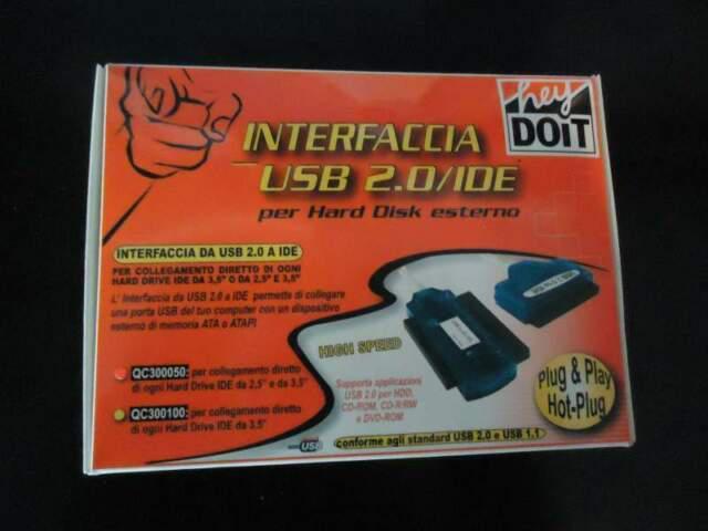 Interfaccia ide usb 2.0