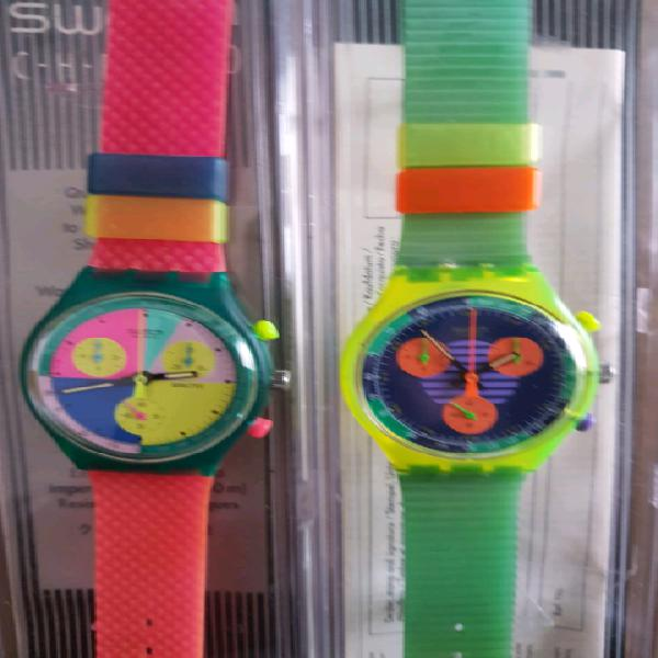 Orologi swatch crono nuovi funzionanti cadauno prezzo