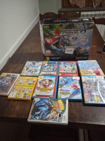 Wii u con 10 giochi