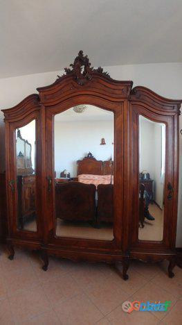Camera da letto fine '800 stile barocco