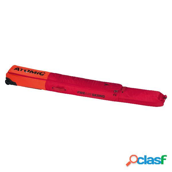 Sacca portasci atomic double ski wheelie (colore: bright red, taglia: uni)