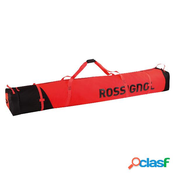 Sacca portasci rossignol 2/3p adjustable (colore: rosso-nero, taglia: uni)
