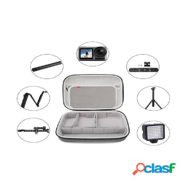 Multifunzione fotografica borsa fotografica accessori per riporre borsa supporto per cavo dati per riporre borsa