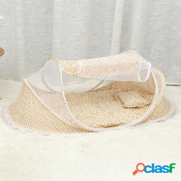 0-3 anni lettino tenda culla materasso portatile pieghevole zanzariera camera da letto neonato lettino da viaggio lettino