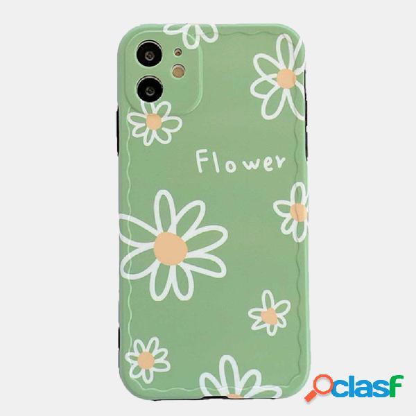 Custodia per cellulare small daisy per iphone silicone custodia soft