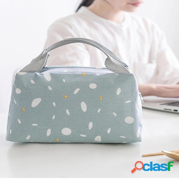Pranzo portatile borsa 2019 nuovo pranzo con isolamento termico scatola borsa frigo borsa bento pouch pranzo al sacco contenitore per alimenti borsas