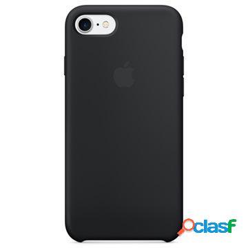 Custodia in silicone apple mqgk2zm/a per iphone 7 / iphone 8 - nera