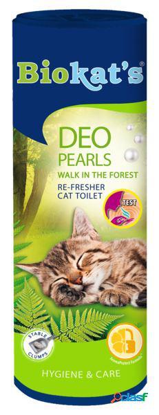 Biokat's deodorante per lettiera gr 700 pearls walk in the forest