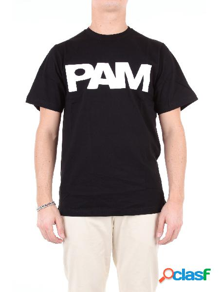 P.a.m. t-shirt manica corta uomo nero
