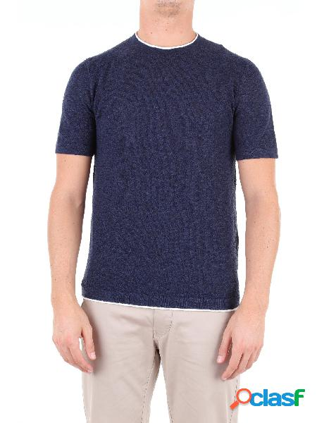 Altea t-shirt manica corta uomo blu cobalto