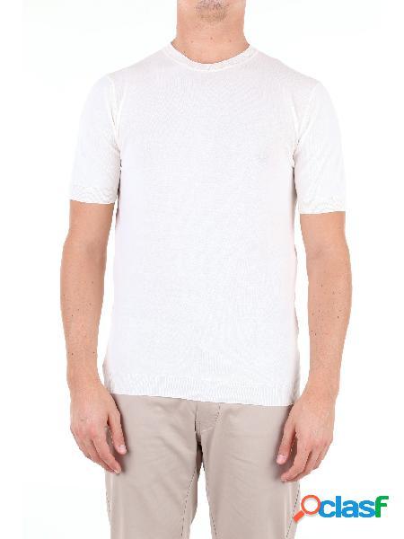 Altea t-shirt manica corta uomo panna