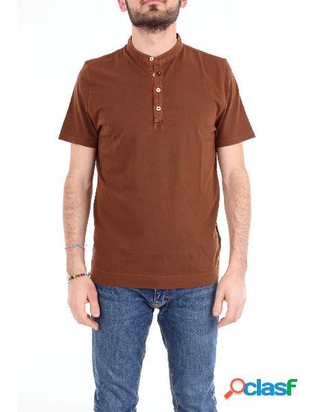Heritage t-shirt manica corta uomo marrone