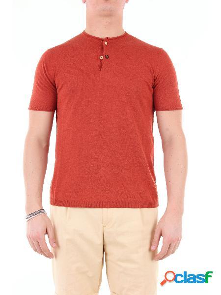 Heritage t-shirt manica corta uomo mattone