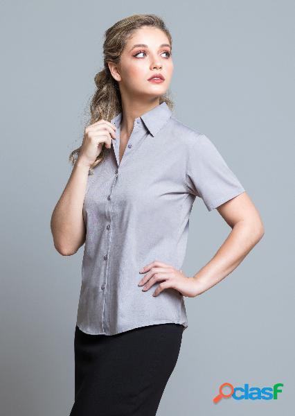 Camicia jhk oxford manica corta donna