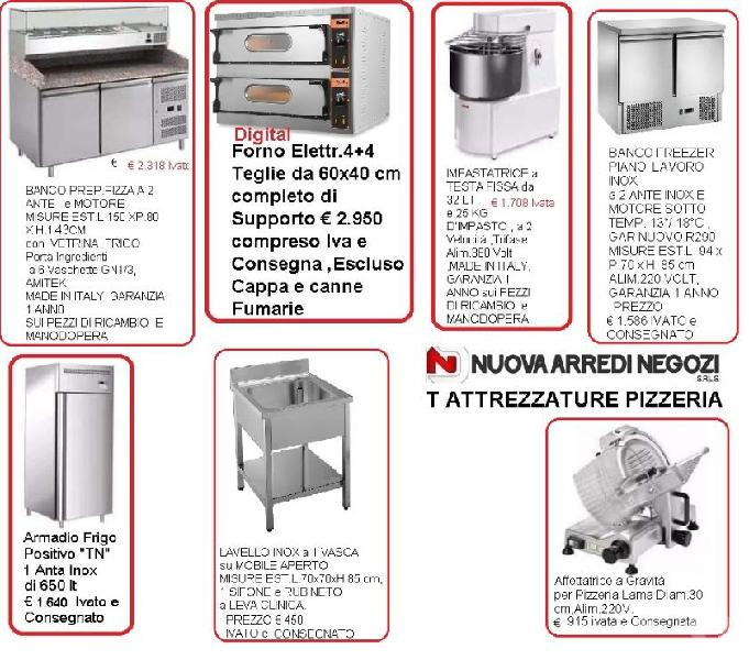 Kit attrezzature pizzeria in offerta vibo valentia