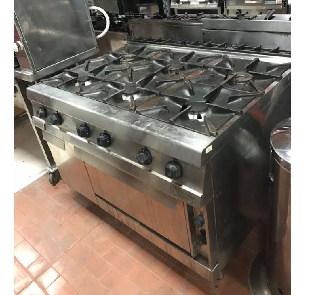 Cucina gas 6 fuochi usata revisionata verona