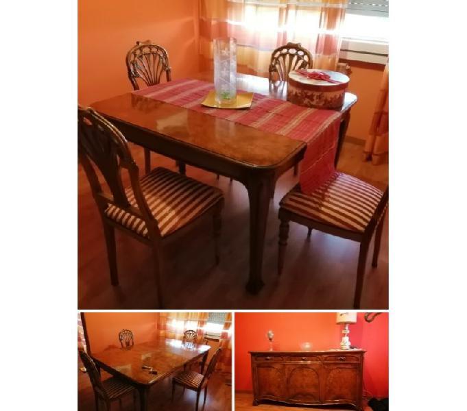 Tavolo 4 sedie mobile basso per soggiorno elegante in vendita roma - vendita mobili usati