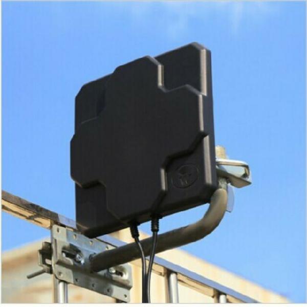 Antenna a pannello modem router 4g + cavo sma