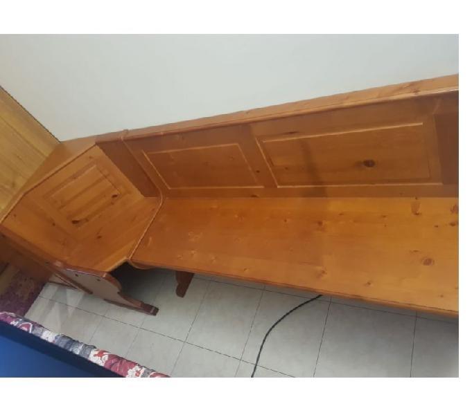 Cassapanca in legno di pino massello in vendita bomporto - vendita mobili usati