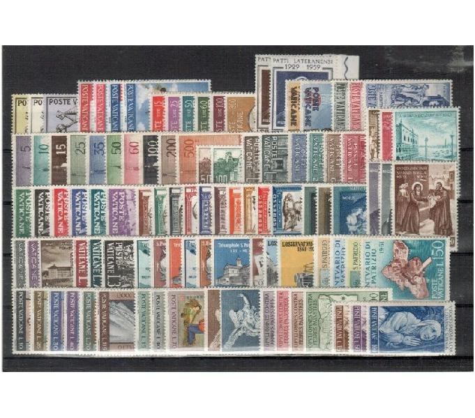 Vaticano 1958-1963 pontificato giovanni xxiii completo empoli - collezionismo in vendita
