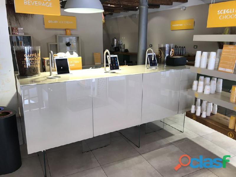 Bancone caffè succo self service topbrewer + topjuicer scanomat