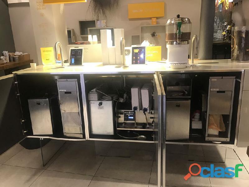 Bancone caffè succo self service TopBrewer + TopJuicer Scanomat 5