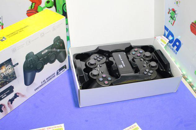 Console 3000 giochi in 4k wireless usb, hdmi mini game stick