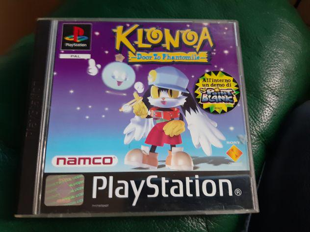 Playstation pal ps1 klonoa raro