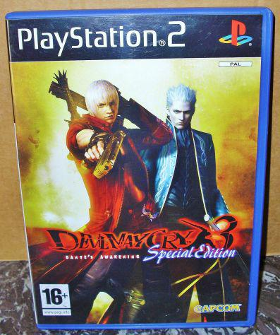 Gioco devil may cry 3 special edition ps2 sony playstation 2