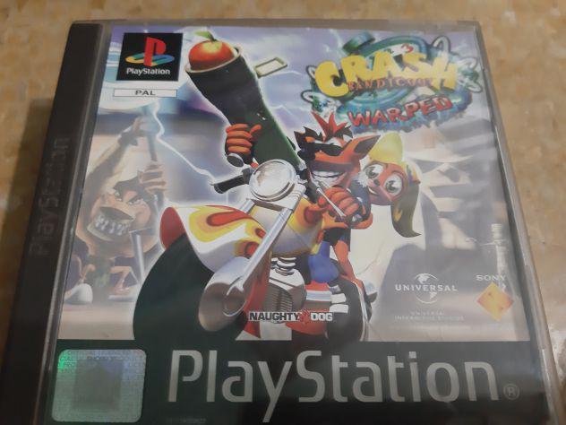 Playstation pal ps1 crash 3 bandicoot