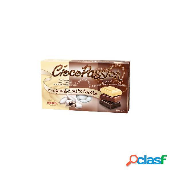 Confetti ciocopassion triplo cioccolato bianco al latte e fondente crispo (714622)