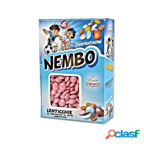 Crispo lenticchie di cioccolato nembo rosa - 1kg