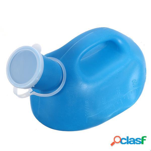 2000ml blu portatile all'aperto urina bottiglia maschile uomini pee camping viaggio