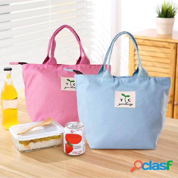 Honana cf-lb080 donna donna mamma mamma pranzo borsa da tote borsa da viaggio piccolo contenitore portatile contenitore di supporto per il cibo
