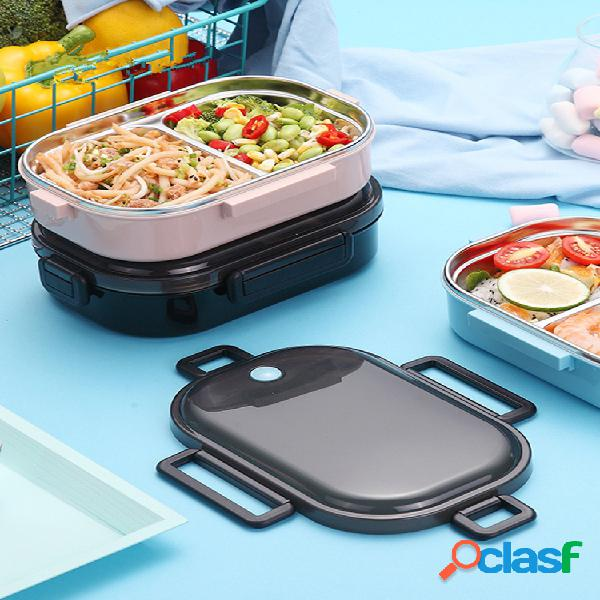 Lunch scatola for kids japanese 304 stainless steel bento scatola bambini a prova di perdite bento lunch scatola