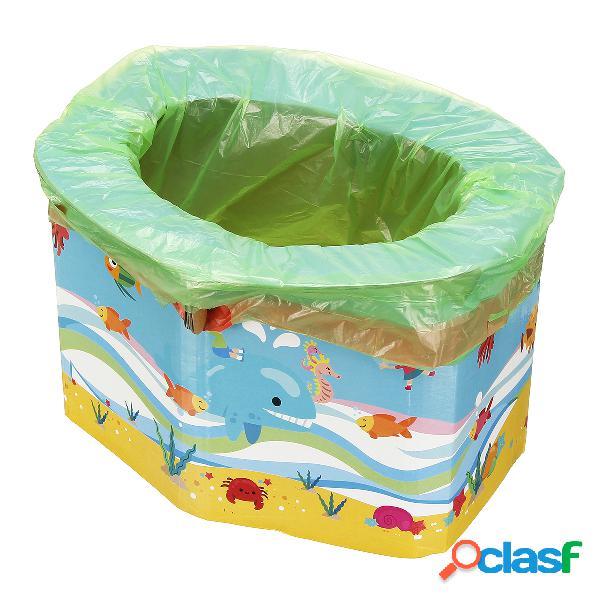 Sedile pieghevole per bambini portatile per bambina o ragazzo - baby toilet toilet training